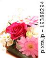 バラ 薔薇 ブーケ プレゼント ギフト 花束 愛 プロポーズ ウエディング 桃色 お祝い ローズ  19388294