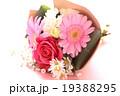 バラ 薔薇 ブーケ プレゼント ギフト 花束 愛 プロポーズ ウエディング 桃色 お祝い ローズ  19388295