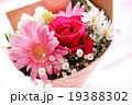 バラ 花束 ブーケ カーネーション 母の日 プレゼント ピンク お祝い フラサーアレンジメント感謝  19388302