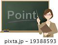 女性(OL)の講師 19388593