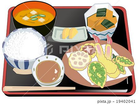天ぷら定食 19402041