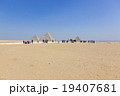 エジプトギザのピラミッド 19407681