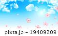 桜 春 背景のイラスト 19409209