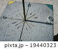 赤道上の真東の影 19440323