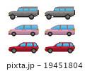 乗用車3点、SUV・ミニバン・ハッチバック、アウトライン有・無 19451804