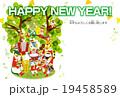 年賀状テンプレート(十二支) 19458589