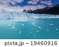 アルゼンチン グレイシャー 氷の写真 19460916
