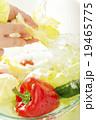 水道 洗う 野菜の写真 19465775
