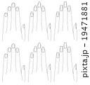 手と爪の形 19471881