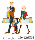 ショッピング中の家族 19480534