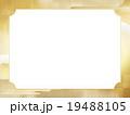 雲 和 金箔のイラスト 19488105