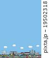 縦の町並みイラスト 19502318