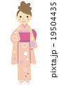 着物 女性 19504435