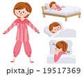 パジャマ 睡眠 19517369