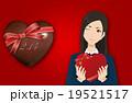 バレンタイン背景素材 19521517