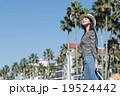 女性 一人旅 旅行の写真 19524442