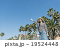女性 一人旅 旅行の写真 19524448
