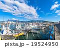 【静岡県】田子の浦港・富士山と漁船 19524950