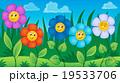花 植物 プランツのイラスト 19533706