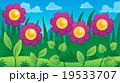 フラワー 花 植物のイラスト 19533707