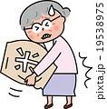 シニア米袋の持ち上げ 腰の痛み  19538975