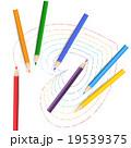 色鉛筆 ハート 19539375