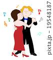 社交ダンスのカップル 19548187