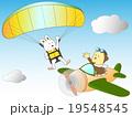動物達の空の冒険 19548545