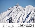 槍ヶ岳 北アルプス 雪山の写真 19548824