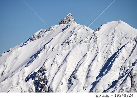 冬の北アルプス「槍ヶ岳」 19548824