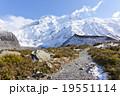 ニュージーランドの山 19551114