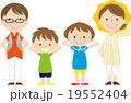 夏休みの親子 19552404