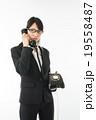 黒電話と女の子 19558487