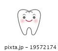 白い歯のキャラクター 19572174