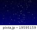 冬の夜空のイラスト 19595159