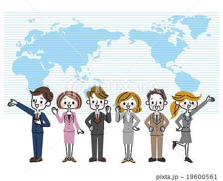 ビジネスチーム グローバル 19600561