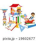 本と子供達 19602677