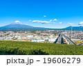 【静岡県・富士市】富士山と街並み 19606279