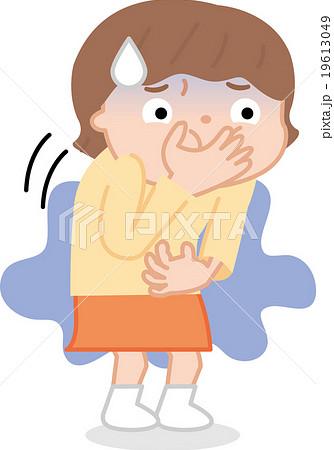 子供のノロ 吐き気のイラスト素材 19613049 Pixta