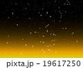 冬の夜空のイラスト 19617250