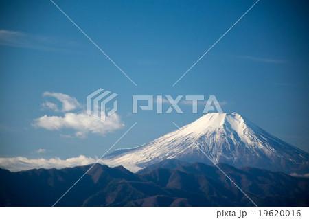陣馬山からの富士山 19620016