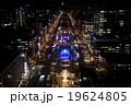 ホワイトイルミネーション(テレビ塔からの眺め 夜景) 19624805
