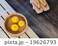 柚子湯 柚子 風呂桶の写真 19626793