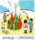 どんど焼き 19638402