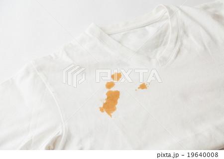 Tシャツについたシミ汚れ 19640008