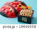 節分イメージ 赤鬼 福 豆 19640558