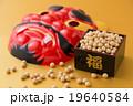 節分イメージ 赤鬼 福 豆 19640584