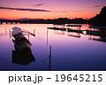 京都市右京区嵐山の渡月橋を早朝に撮影したもの 19645215