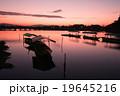 京都市右京区嵐山の渡月橋を早朝に撮影したもの 19645216
