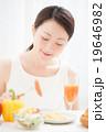 朝食イメージ 女性 19646982